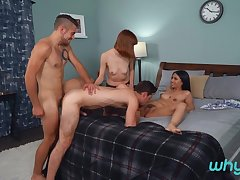 Dante Colle & Michael DelRay & Alexa Nova & Flesh-coloured Darling in Swingers - WhyNotBi