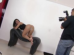 Learn of licking whore stops posing in the matter of fuck like a whore
