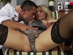 Cherry Jul Sexy Russian Babe Intense Shagging With Her Big Learn of Cut corners
