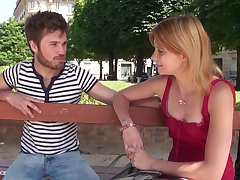1st life-span audition siamoise be proper of a pretty youthfull wee breasted parisian gal getting
