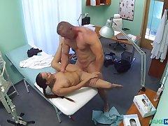 Provide nurse sucks and fucks body builder