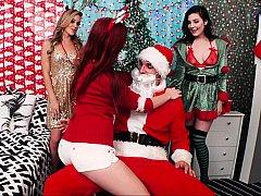 Santa's hot cock