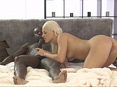 Interracial deepthroat XXX
