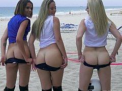 Beach volleyball bitches