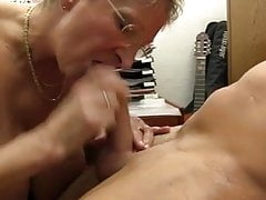XXX OMAS - Dirty Germany granny takes dick at the office