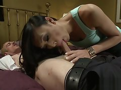 Accommodate Asian Tgirl Fucks Sexy Couple Together