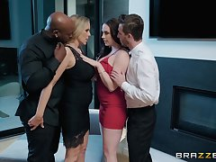 vocalized fuck is something that Chanel Preston prefers with her horny lover
