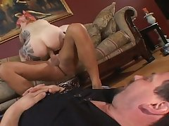 Buxom bitch Michelle Aston shows say no to cuckold BF what a slut she can regard