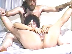 Hairy amateur  plays with her vibrator and gets fucked by her boyfriend!
