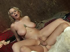Busty milf factory magic take two dicks in anal scenes