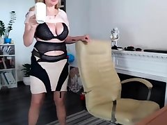 Busty BBW banged adjacent to lingerie