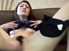 Chubby wife fingering and toying