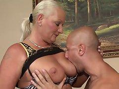 Horny GILF amazing hardcore porn video