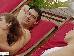Naughty babe Kendra Sunderland crazy cheating lovemaking