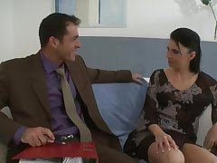 Hardcore fucking on a catch sofa with devilish darling Siraell with regard to HD