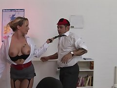 Sasha Delicate situation is a slutty teacher who gets her kicks from her students