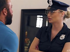 Natalia Starr - Caught By The Cops